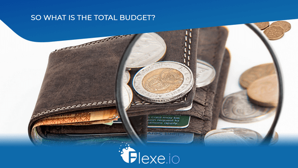 Total start budget for ICO STO