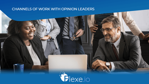 Channels of work with opinion leaders