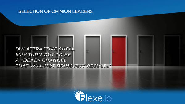 selection of opinion leaders
