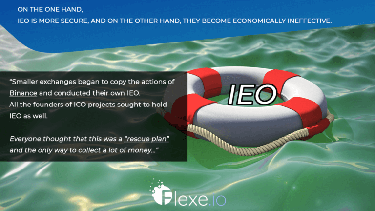 on the one hand, IEO is more secure, and on the other hand, they become economically ineffective.